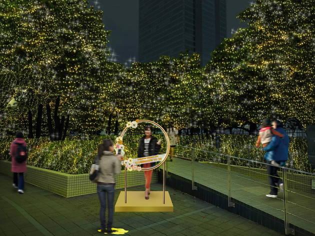 Shinjuku Terrace Illumination