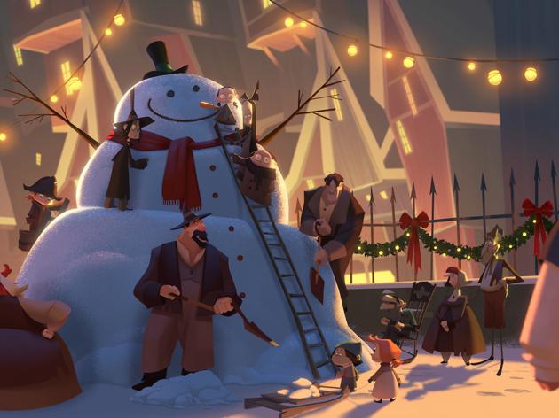 O Natal segundo dois portugueses, no primeiro original de animação da Netflix