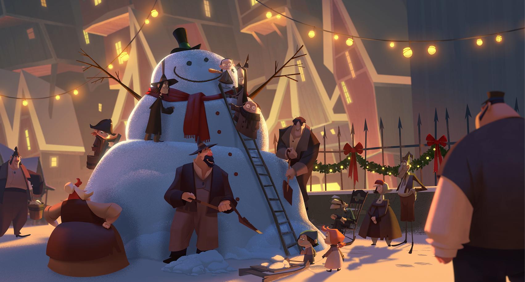 Klaus: A Origem do Pai Natal