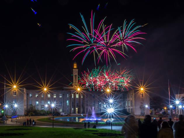 walthamstow fireworks