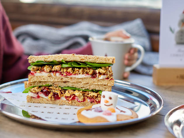 Pret's Christmas lunch sandwiches launch