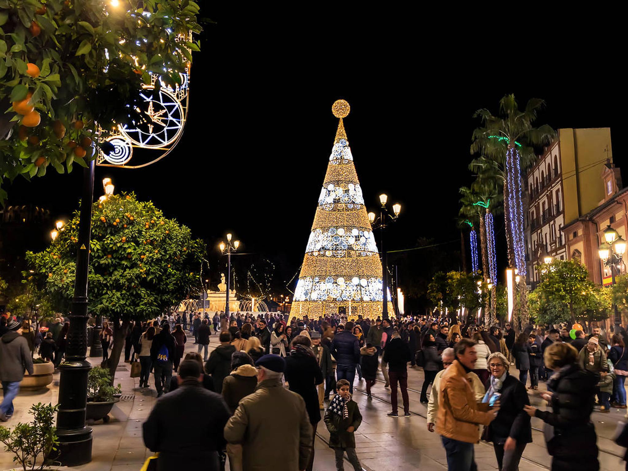 Seville Christmas Market