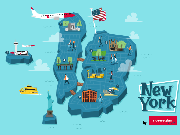 Viu Nova York com un autèntic local