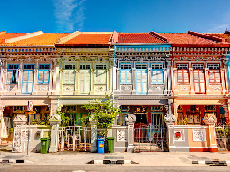 Where to see the most Instagram-worthy shophouses in Singapore