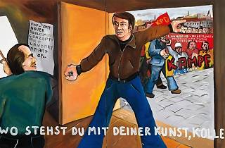 Jörg Immendorff. La tarea del pintor