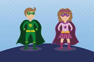 Creación de superhéroes