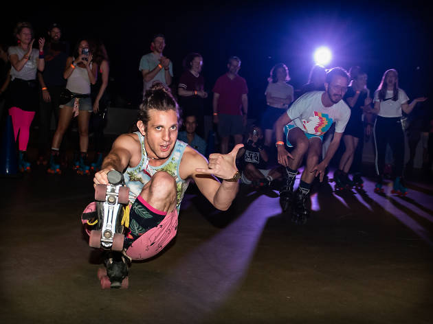 Dreamland Roller Disco opens a new retro roller rink in Downtown Brooklyn