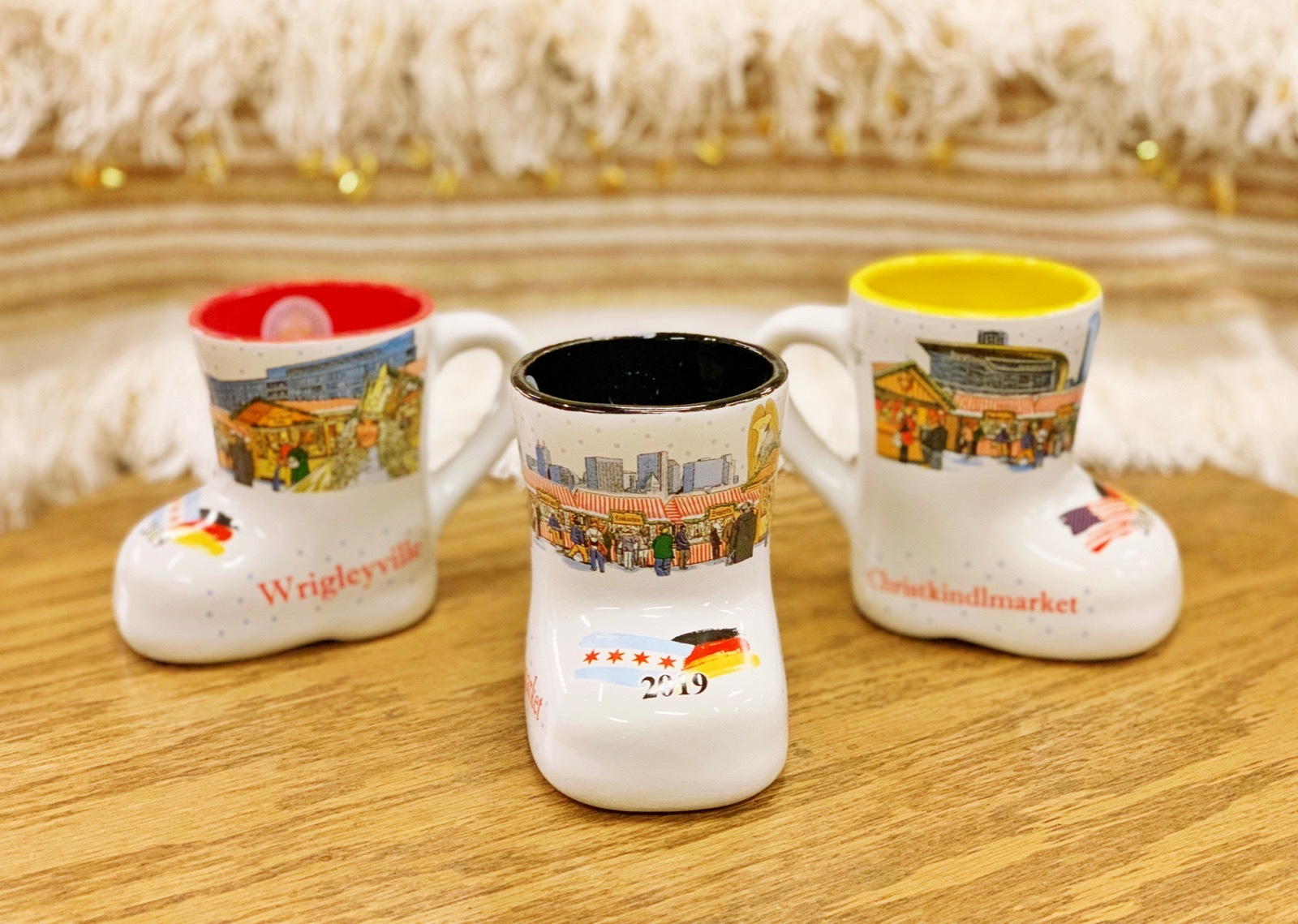 It's a Christmas miracle! Boot mugs return to Christkindlmarket for 2019.