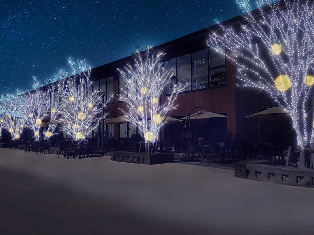 メッツァビレッジのクリスマス 北欧の森とクリスマスマーケット
