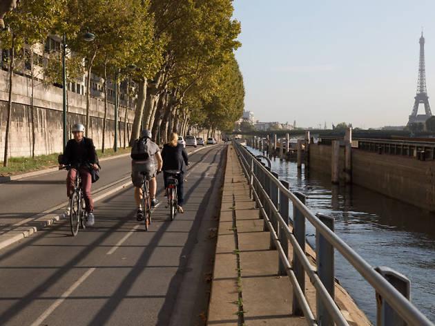 Le candidat écologiste à la mairie a présenté son plan pour«libérer Paris de la voiture»