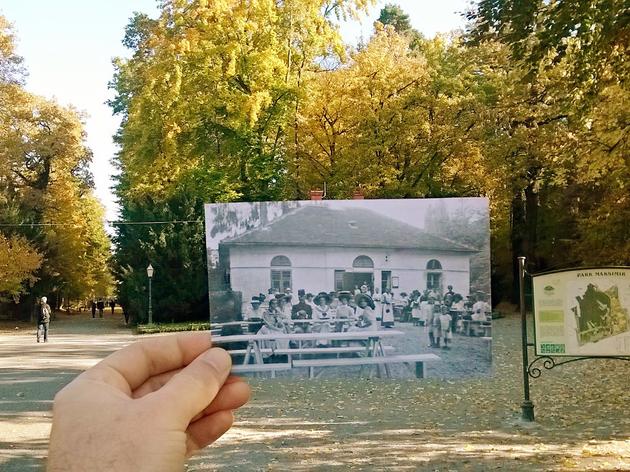 Maksimir park in 1910