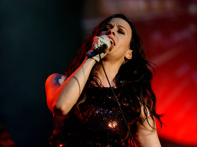 Alanis Morissette is performing Jagged Little Pill (the whole thing!) live at the Apollo