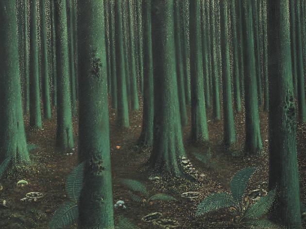 'Intérieur de forêt' (1894), de William Degouve de Nuncques