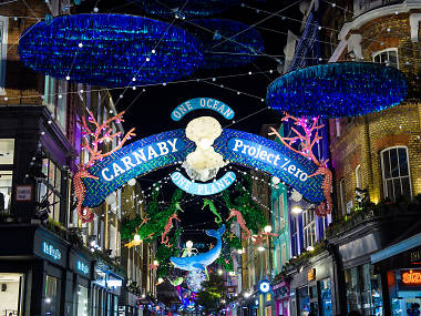 Carnaby Street is leading the way with sustainable Christmas lights