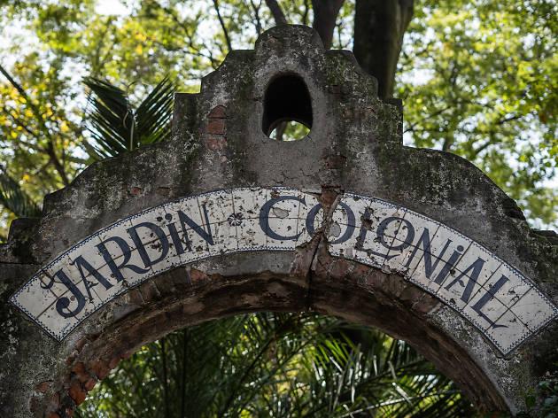 Jardín Colonia en la Del Valle