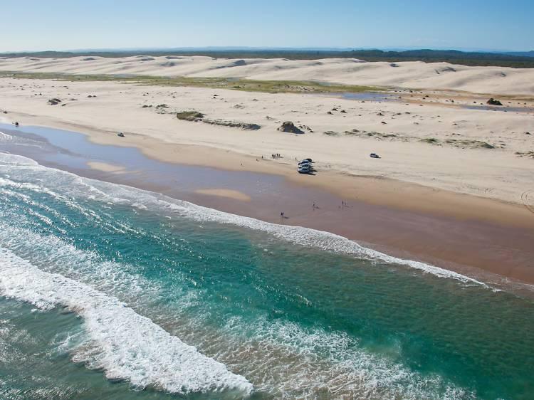 The Stockton Sand Dunes