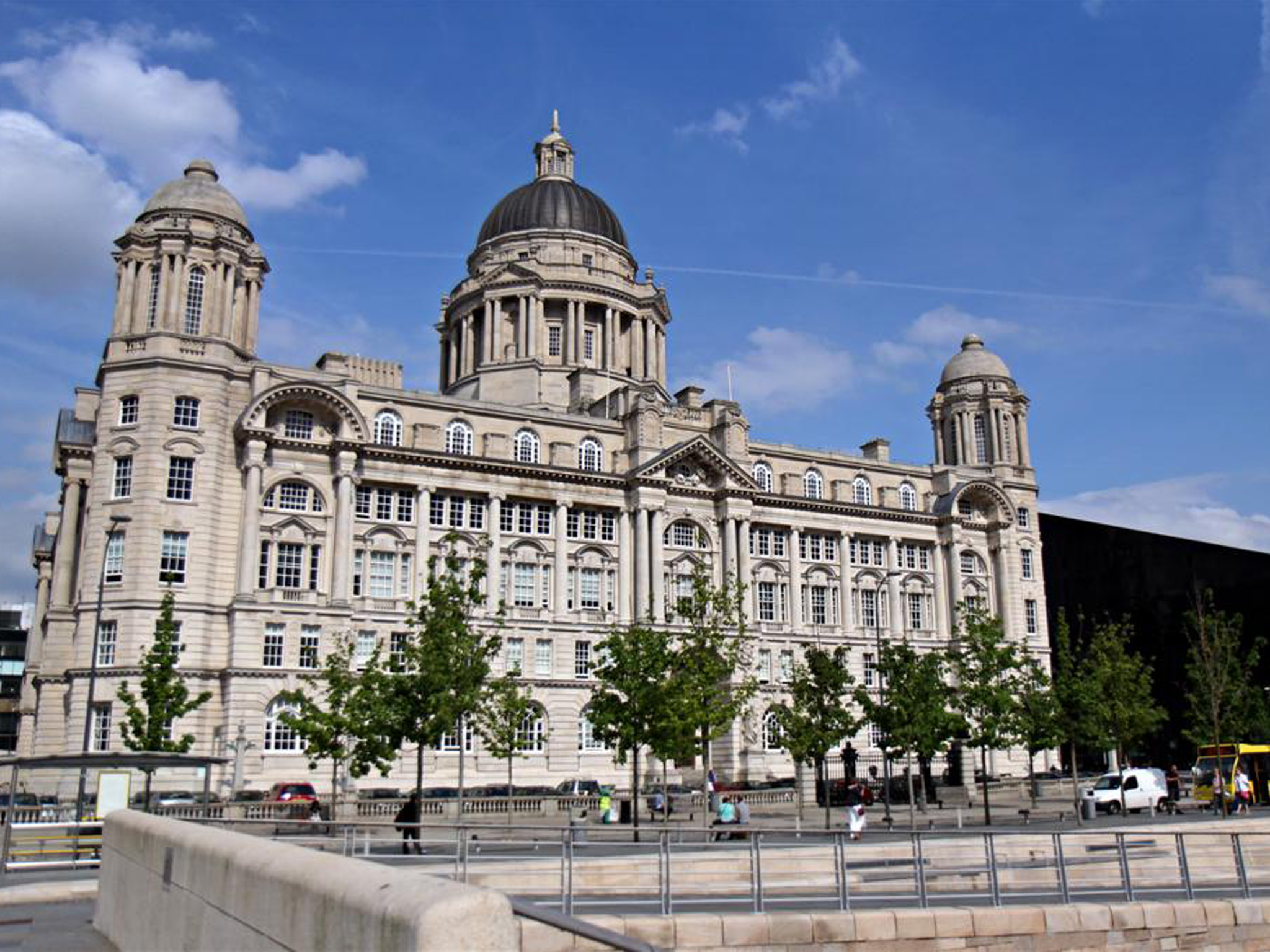 The Port of Liverpool building at Pier Head