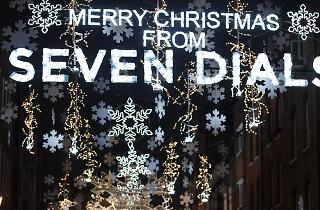 Seven Dials Christmas Lights