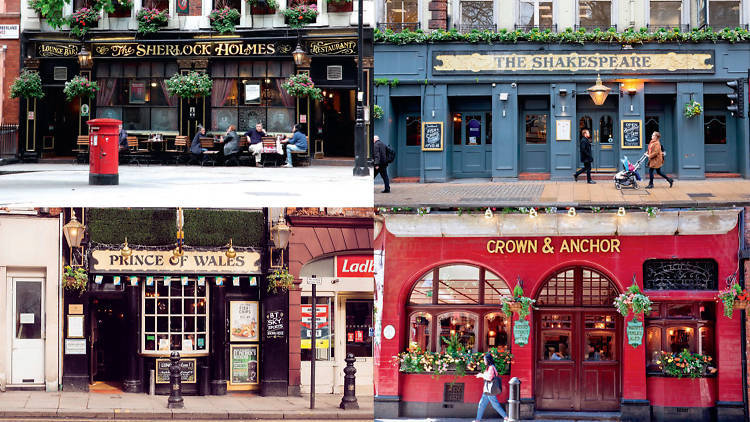 How many pubs are there in London?