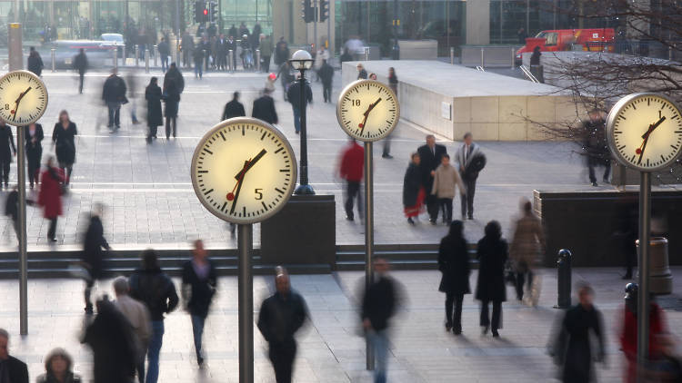 Why do Londoners walk so fast?