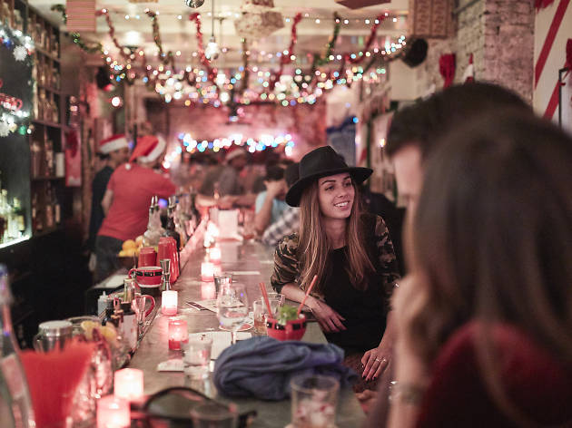 New York City's best bar is transforming into a holiday wonderland