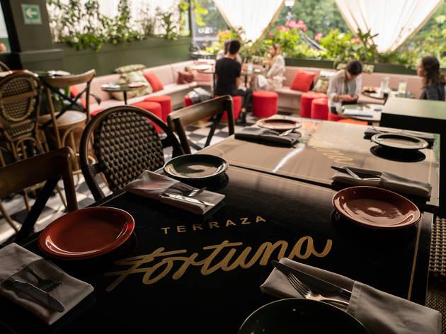 Terraza Fortuna: cocteles de autor y cocina de Ensenada en Polanco