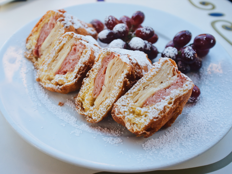 Best Disneyland food Monte Cristo Cafe Orleans New Orleans Square