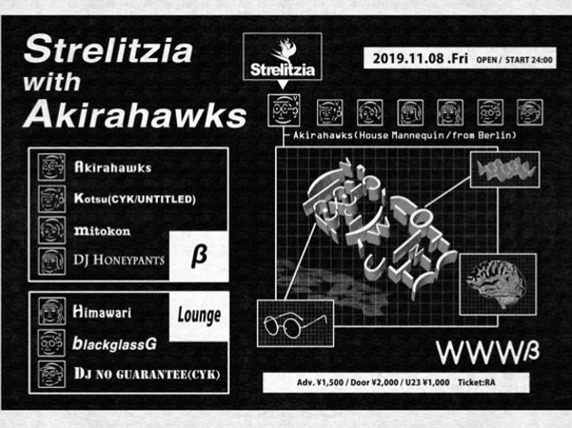 Strelitzia with Akirahawks