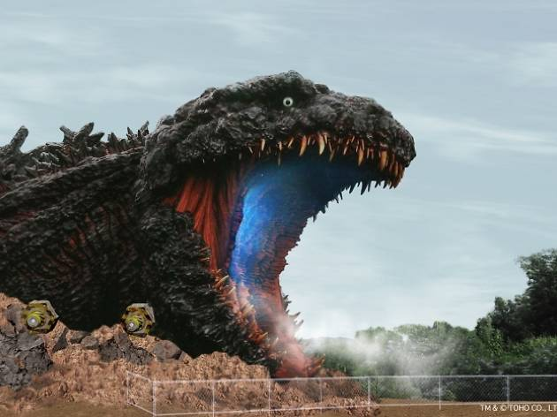 Godzilla theme park in Hyogo - PR shot