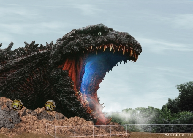 Anime theme park in Hyogo to feature a life-size, 120-metre Godzilla