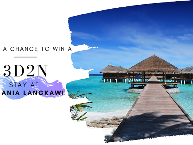 Sign up now for a chance to win a Langkawi hotel stay!
