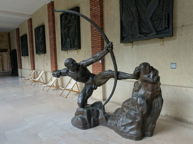 Héraklès Archer by Bourdelle at the Musée Bourdelle