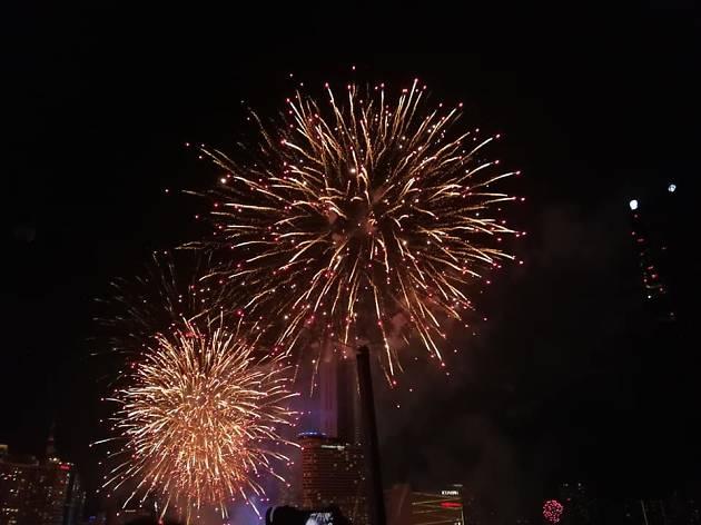 Firework at River Vibe