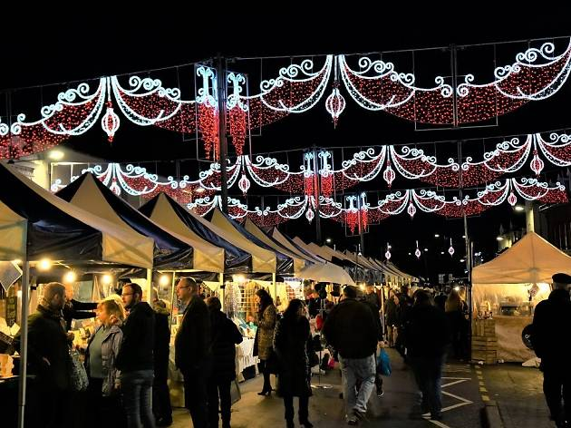 Victorian Christmas Market, stratford upon avon