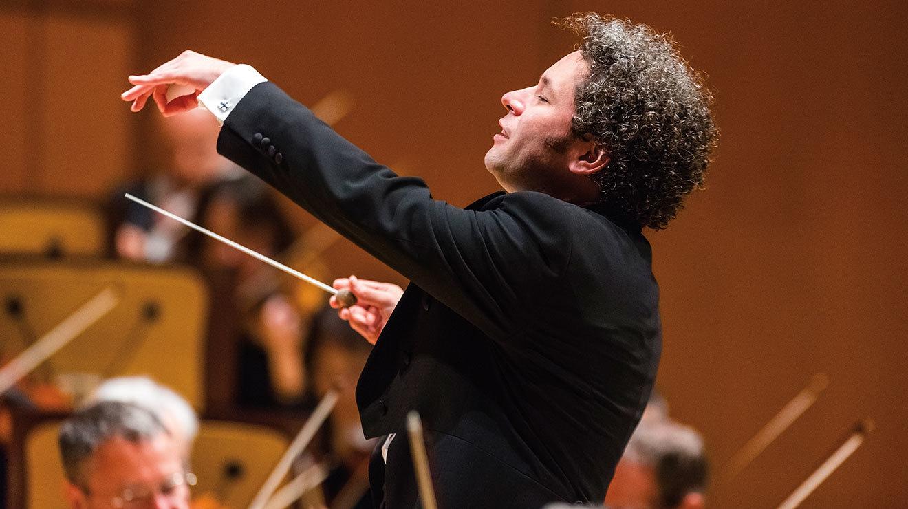 La Orquesta Filarmónica de Los Ángeles. Dirige Gustavo Dudamel