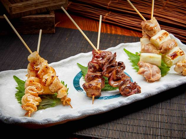 Kido Yakitori Chicken Skewers