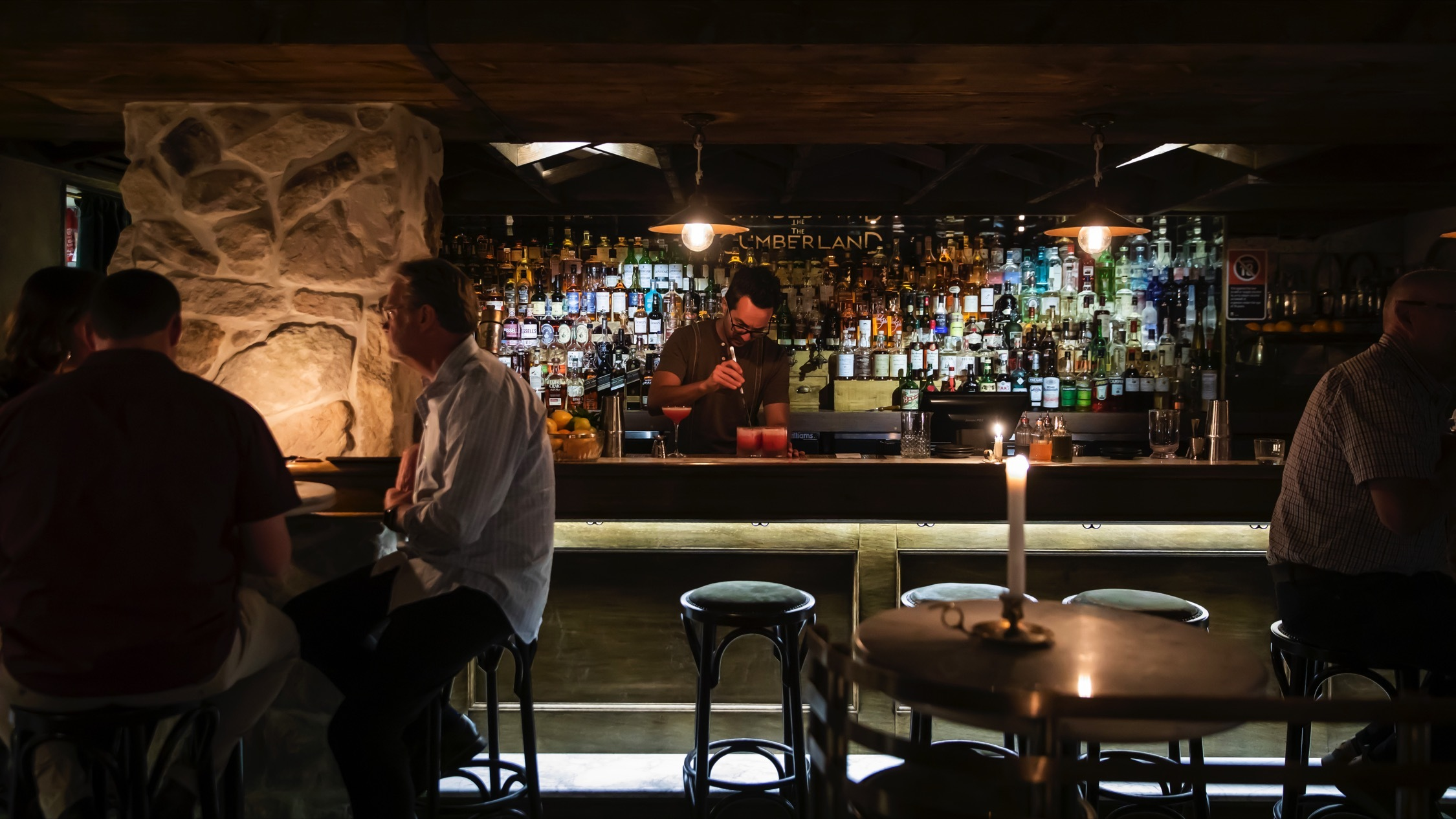 at The Cumberland Manly Bar