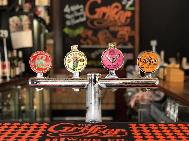 Four Grifter taps at the Warren View Hotel