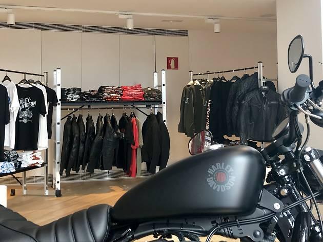 Moteros, Harley-Davidson abre en Madrid su primera pop up store