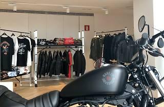 Harley-Davison pop up store