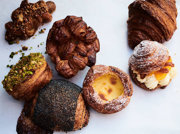 An array of pastries from Hart Bageri in Frederiksberg, Copenhagen