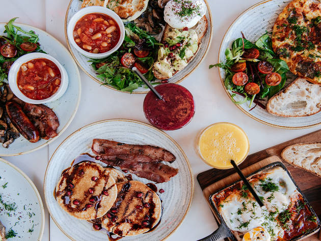 Brunch with bottomless drinks, starters and puds at Music & Beans Camden
