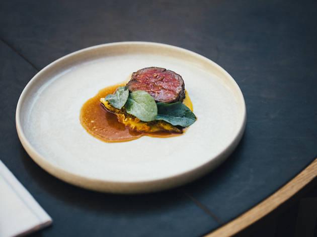 A dish at Alouette restaurant in Copenhagen