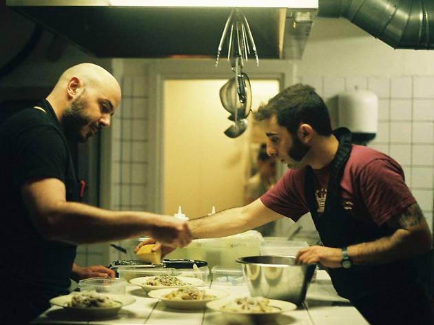 Chefs at Rufino Osteria