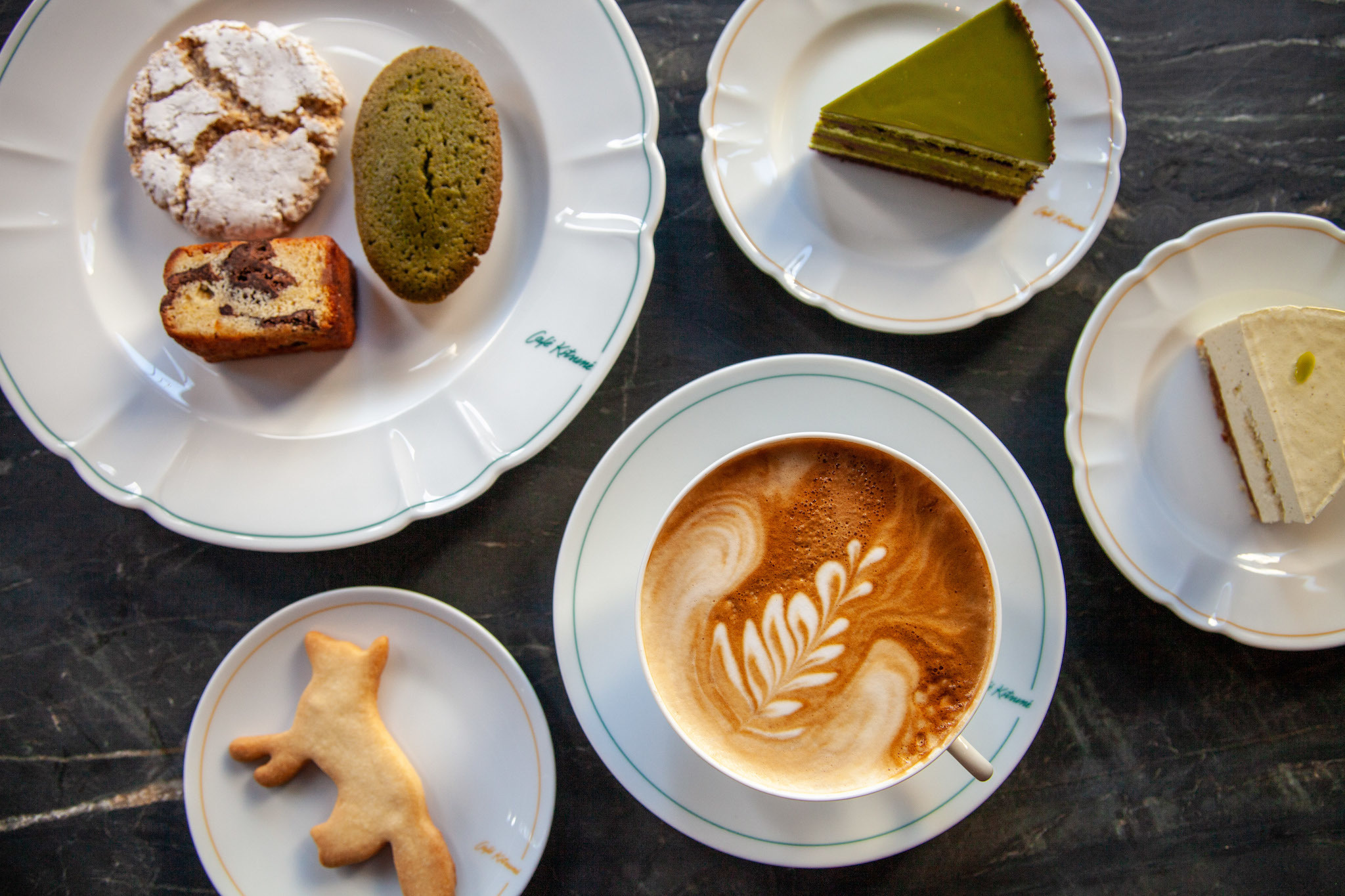 Café Kitsuné New York opens with cakes from acclaimed bakery, Burrow