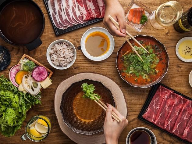 Best shabu-shabu hotpot in Tokyo