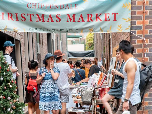 Chippendale Christmas Market 2