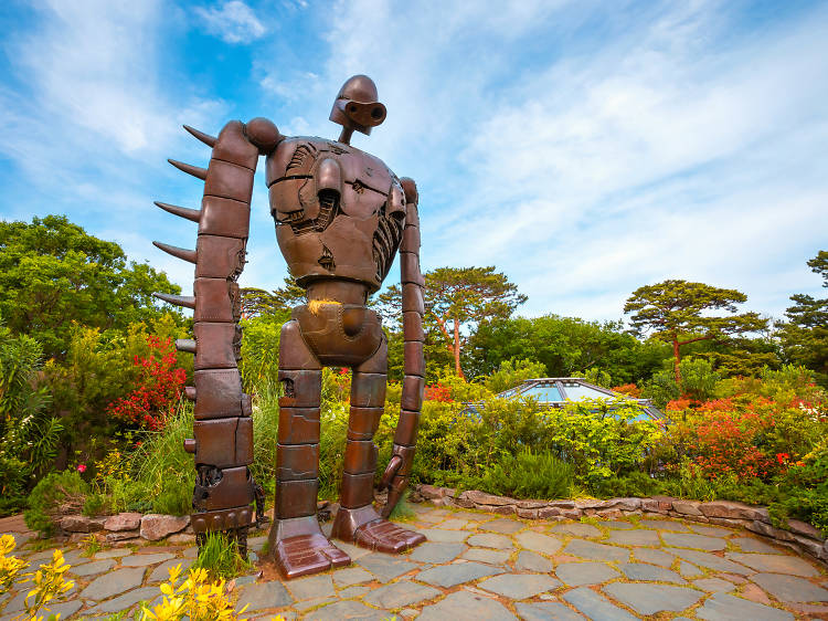 Step into Hayao Miyazaki's anime world at the Ghibli Museum
