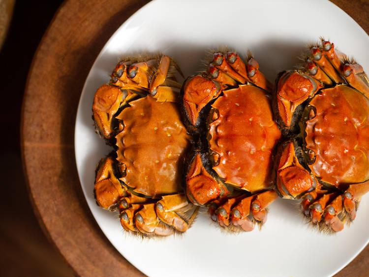 都爹利會館:北海道大閘蟹宴