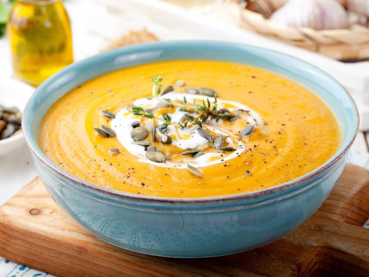 Tallore: Pumpkin sage soup